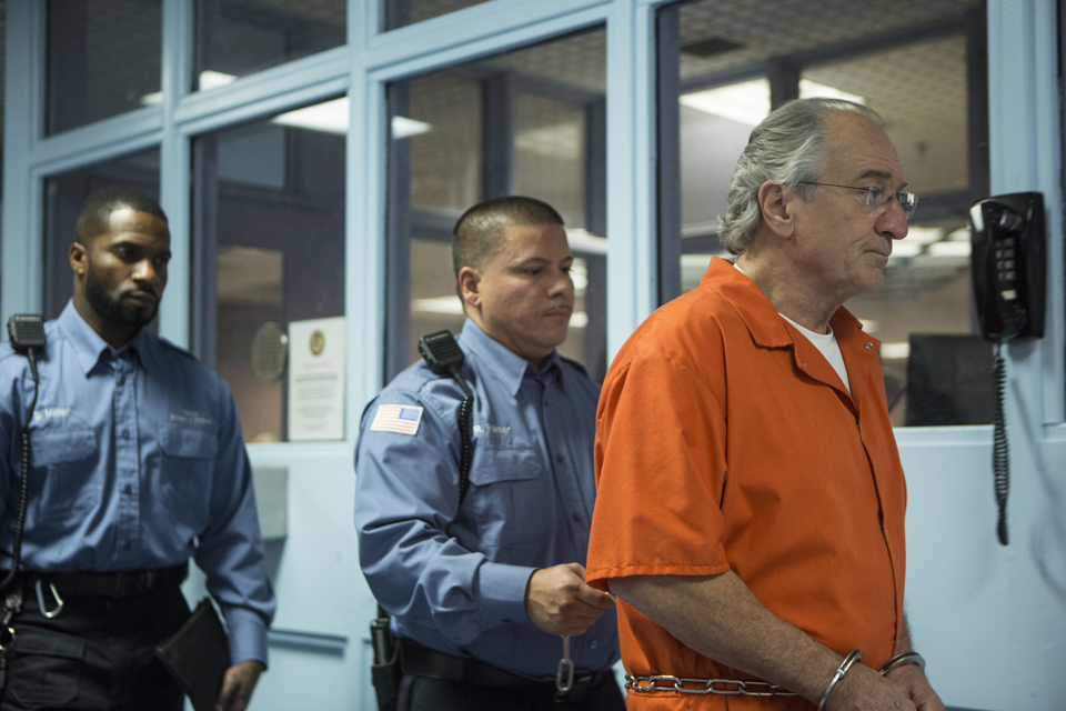 Robert De Niro as Bernie Madoff
