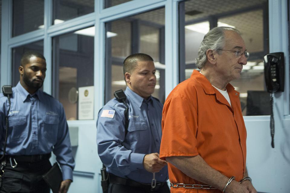 Robert De Niro as Bernie Madoff